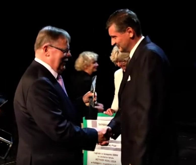 Andrzej Ptak – Inżynier roku 2014 <br //>w kategorii inspektor nadzoru inwestorskiego