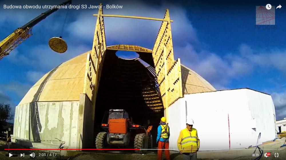 Budowa obwodu utrzymania drogi S3 Jawor – Bolków